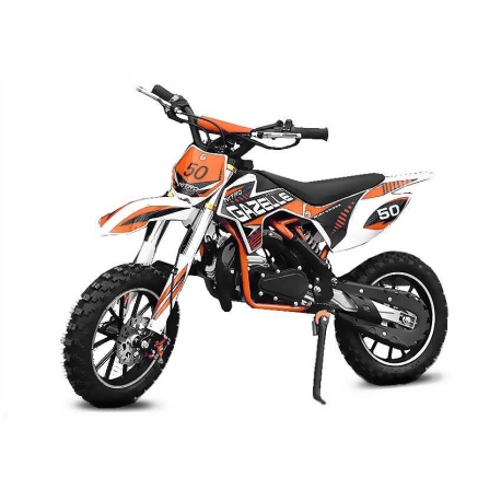 "Gazelle 49cc 10"" dirt bike enfant 8 à 12 ans"