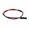 Clutch cable - 900mm - Red