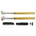 Adjustable inverted fork tubes - 735mm