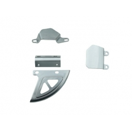 Aluminium rear brake protection kit