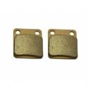 Rear brake pads - Model 1 - Semi-metal