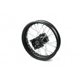 """12"""" Rear wheel rim - 12mm - Aluminium"""