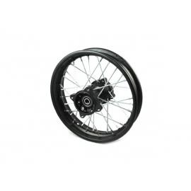 """12"""" Rear wheel rim - 15mm - Aluminium"""