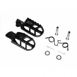 Steel footrest - Black