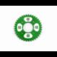 Wreath 420 - 58mm - 37 Teeth - Aluminium - Green